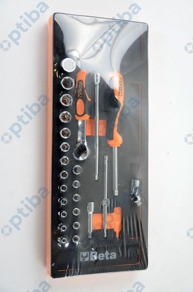 Zestaw 25 narzędzi 2450/M91 w miękkim wkładzie 024500091