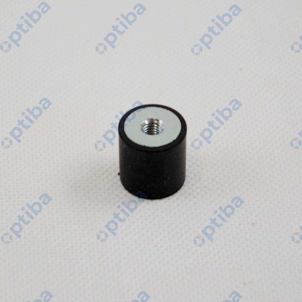 Wibroizolator walcowy W-20-E-4 M6 20x20mm