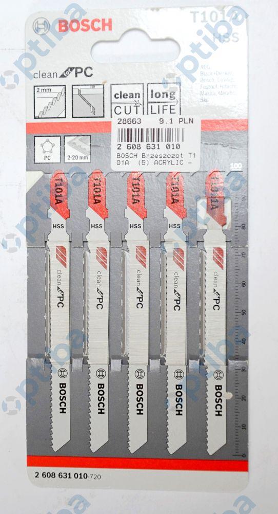 Brzeszczot T101A do wyrzynarek ACRYLIC 2608631010