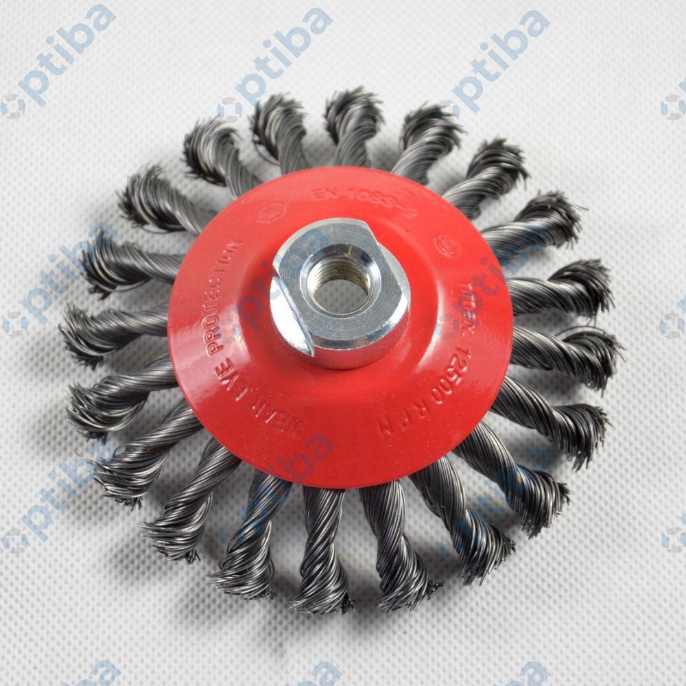 Szczotka druciana 3908632151 125x15mm