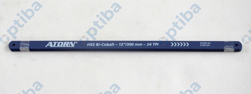 Brzeszczot pił ręcznych ze stali szybkotnącej i bimetalu 51581324 24 zęby 300x13x0,65mm