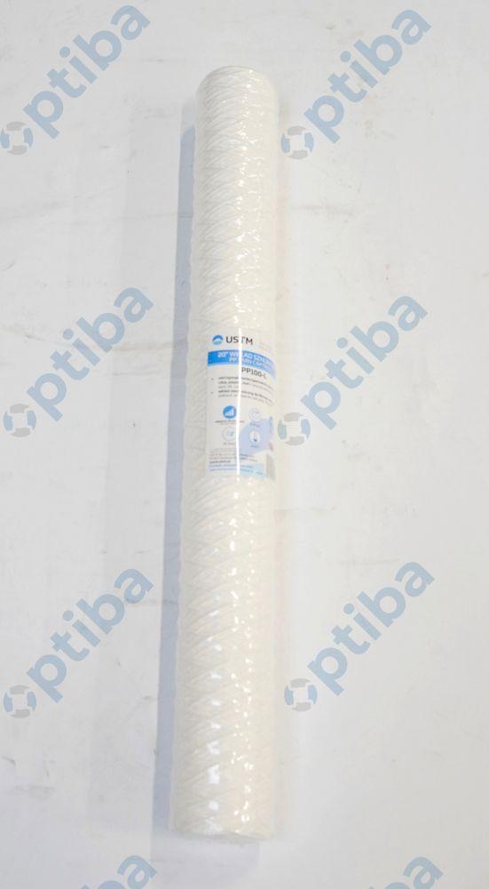 """Wkład sznurkowy PP100-L 20"""" 100 mikronów EB 51111 PP"""