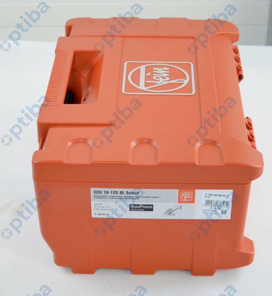 Szlifierka kątowa akumulatorowa CCG 18-125 BL Select
