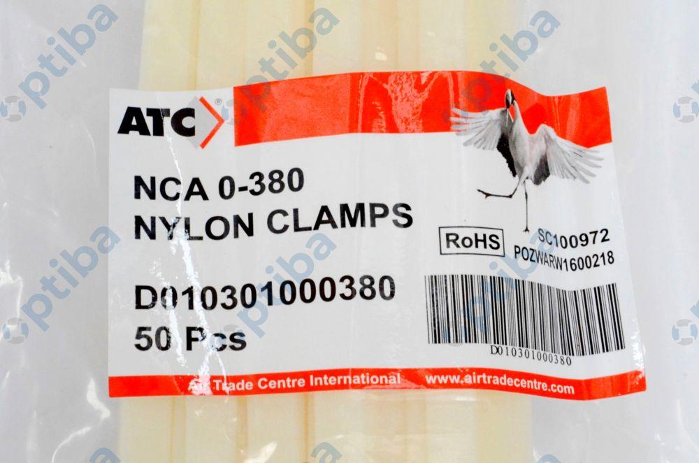 Opaska nylonowa NCA 0-380 T036047 D010301000380 dla max. fi 380 dł.1168 50szt.