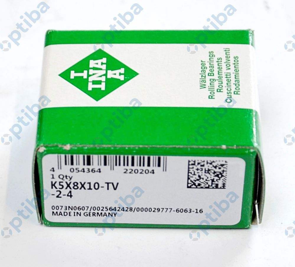 Złożenie igiełkowe K5X8X10-TV/0-7 INA
