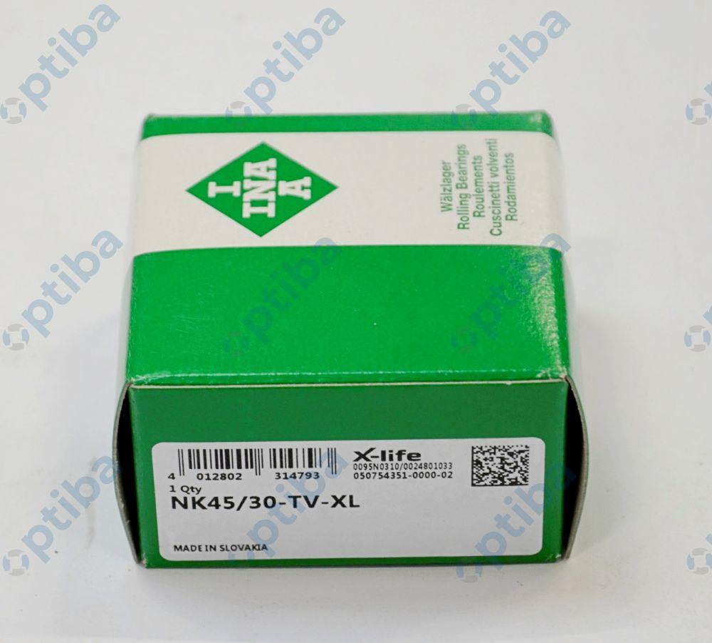 Łożysko igiełkowe NK45/30-TV-XL INA