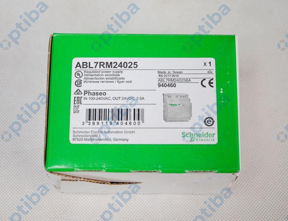 Zasilacz modułowy 100-240VAC/24VDC 2.5A ABL7RM24025 SCHNEIDER ELECTRIC