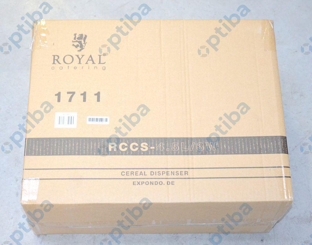 Dozownik do produktów sypkich RCCS-4.5L/3W 3x1.5L 10010711