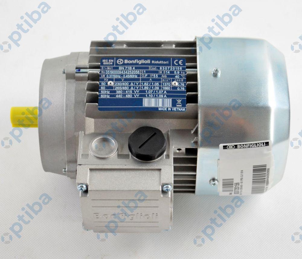 Silnik BN 71B-4 B14 0,37kW 230/400-50 IP55 CLF IE1