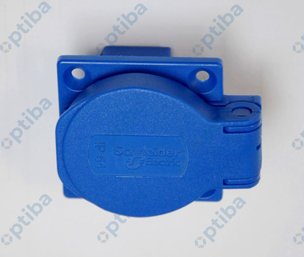 Gniazdo 50x50 IP54 PKN51B niebieskie SCHNEIDER ELECTRIC