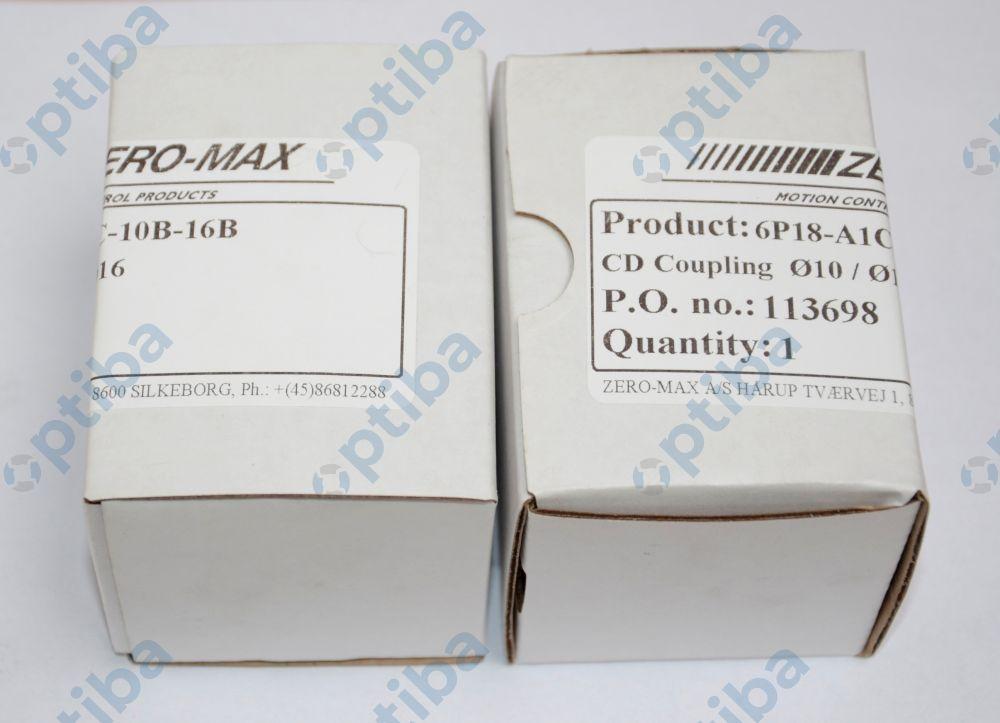 Sprzęgło aluminiowe bez wpustów ZMA-6P18-A1C 10x16mm