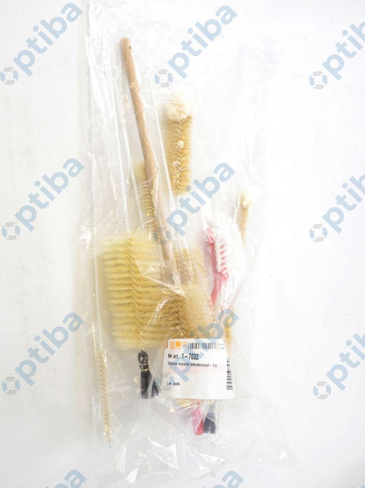 Zestaw szczotek laboratoryjnych 1-7032 10szt.