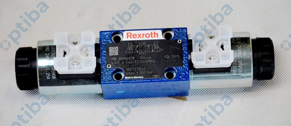 Zawór kierunkowy 24V 4WE 6 E6X/EG24N9K4 R900561278 REXROTH