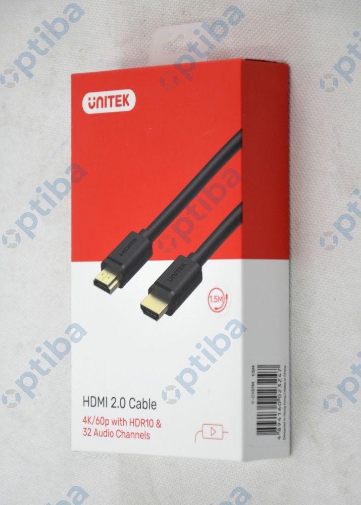 Kabel HDMI-HDMI Y-C137M 1.5m czarny