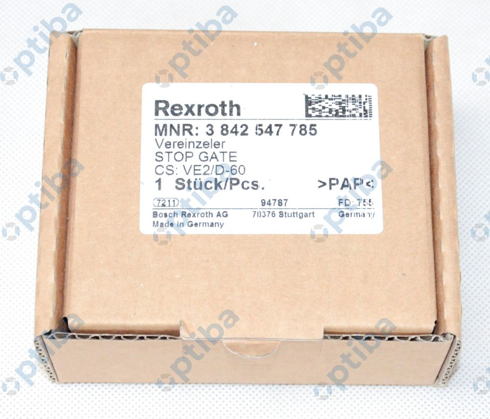 Stoper VE 2/D-60 3842547785 BOSCHREXROTH