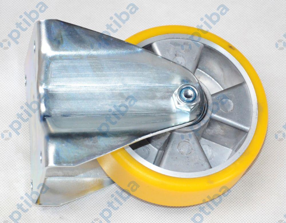 Koło aluminiowo-poliuretanowe stałe d=125 A23PW