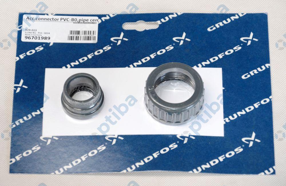 Przyłącze PVC G1 1/4' DN20 16 bar z rurą 20/25 mm 529-023 GRUNDFOS