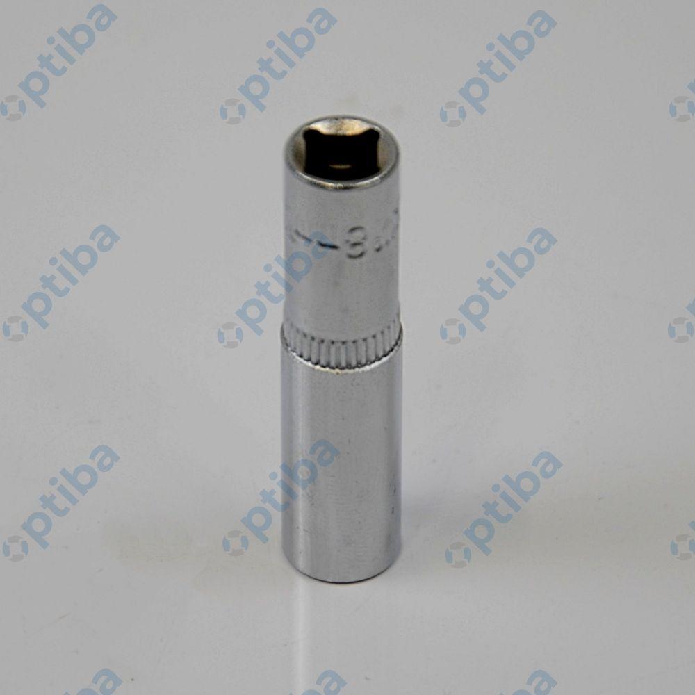 """Nasadka sześciokątna YT-1419 1/4"""" 8mm CV długa"""