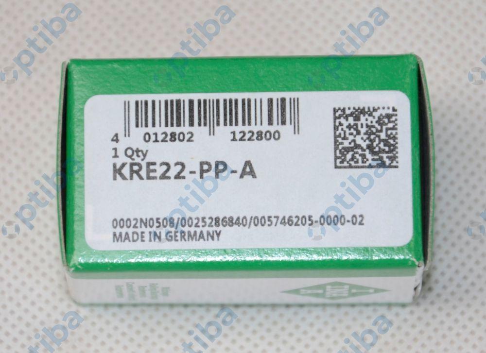 Rolka popychacza (mimośrodowa) igiełkowa z trzpieniem KRE22-PP-A INA