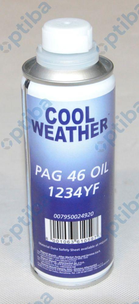 Olej do czynnika R1234YF 250ml 007950024920 o parametrach odpowiadających ND-12