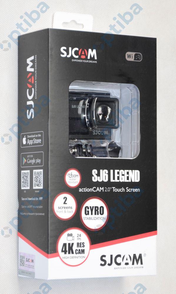 Kamera sportowa SJ6 LEGEND 4K czarna
