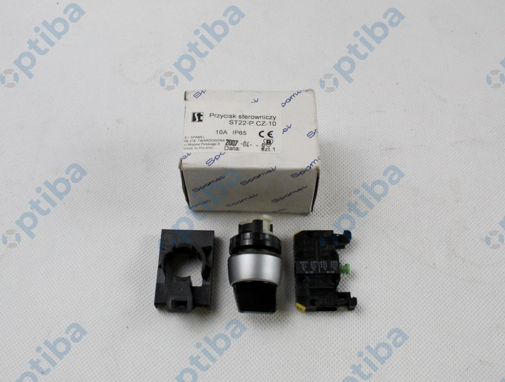 Przycisk sterowniczy ST 22 P.CZ-10 SPAMEL