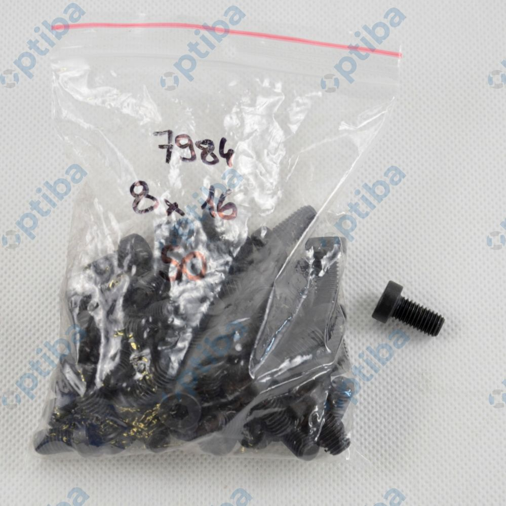 Śruba imbusowa pgw M08x16 ISO4762 8.8