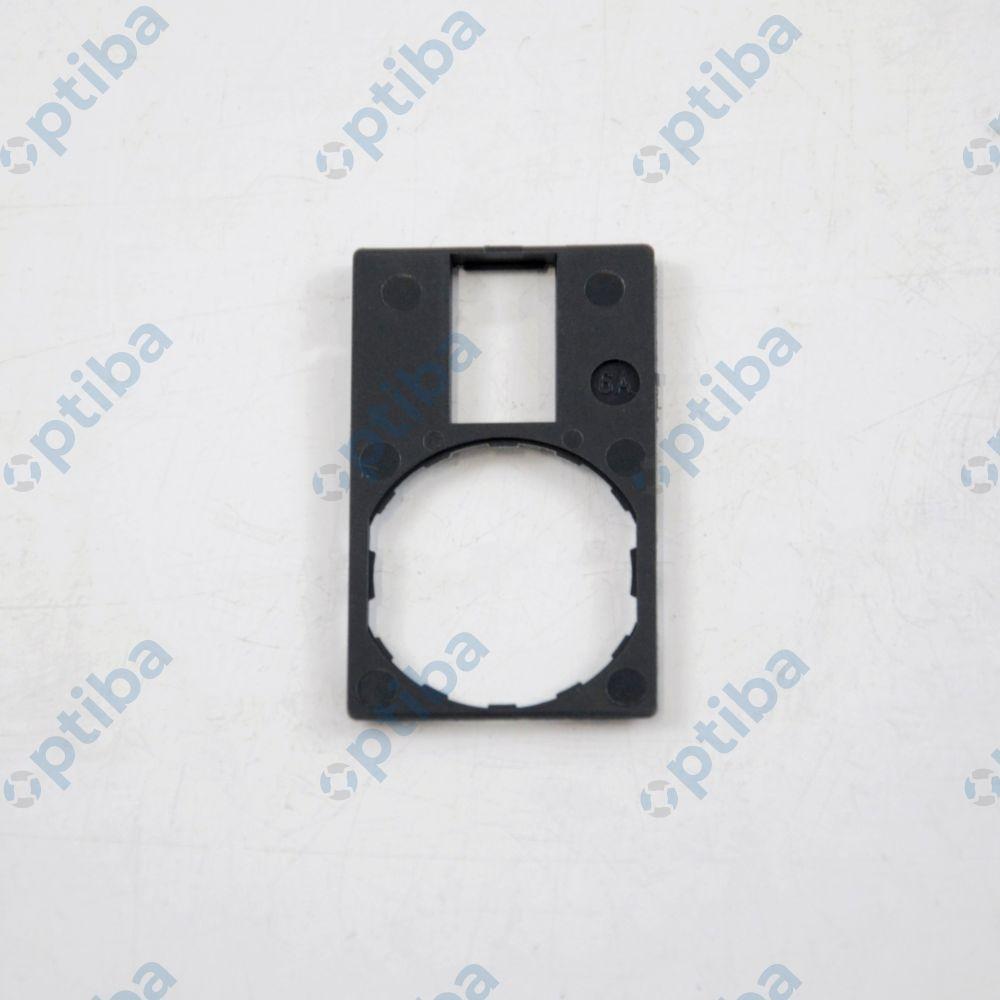 Ramka ZBZ33 30x50mm do mocowania etykiet 18x27mm czarna