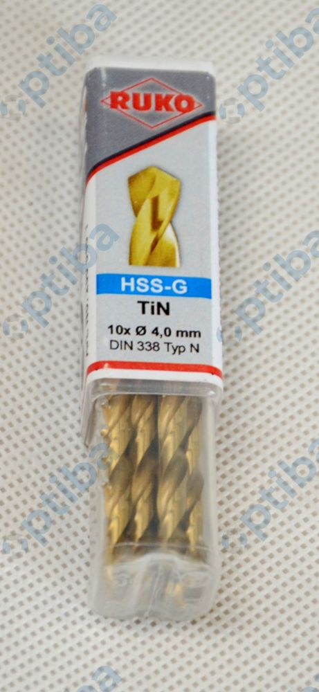 Wiertło HSS-TiN 4,0mm DIN338 250040T