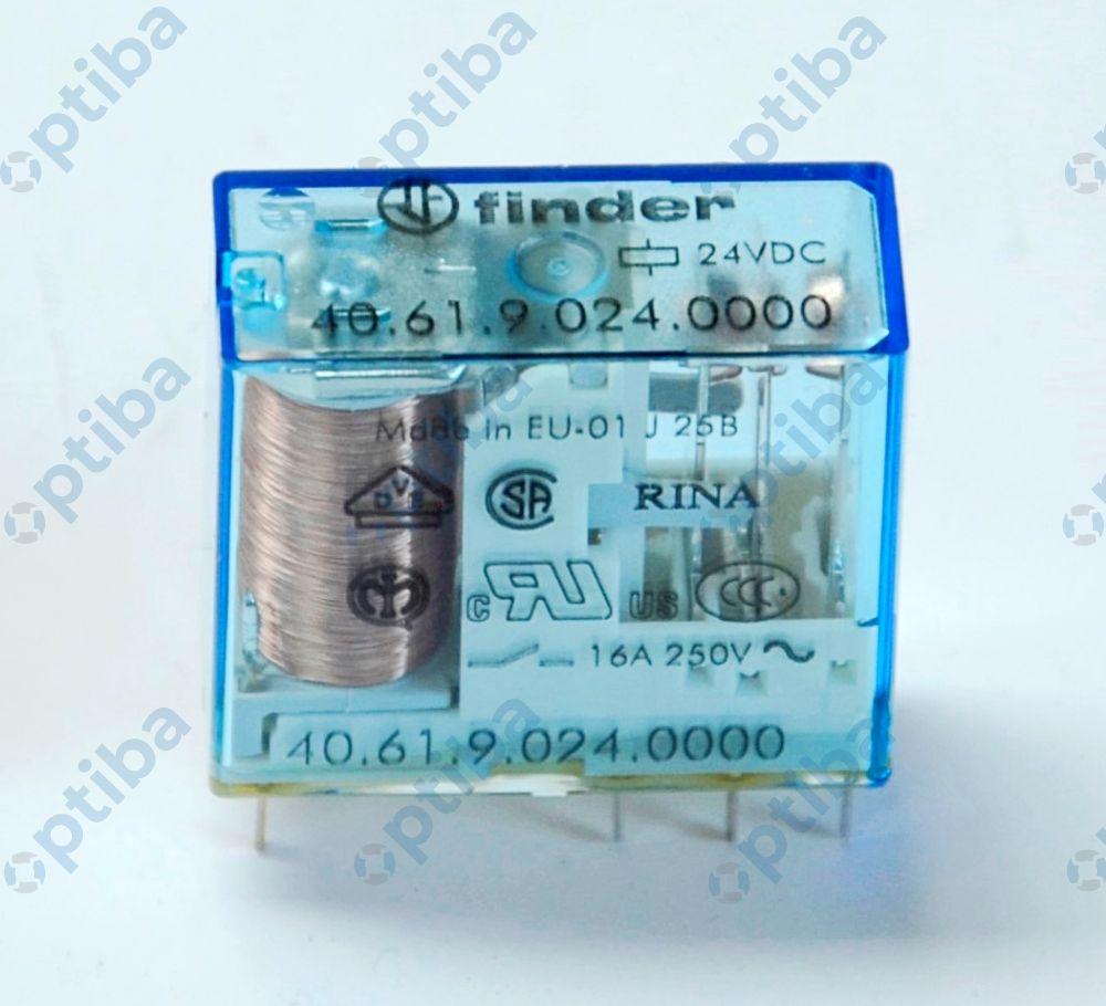 Przekaźnik elektromagnetyczny 40.61.9.024.0000 1P 16A 24V/DC FINDER