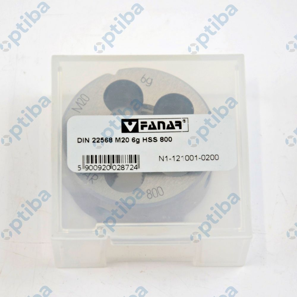 Narzynka NHMA M20 HSS 800 N1-121001-0200
