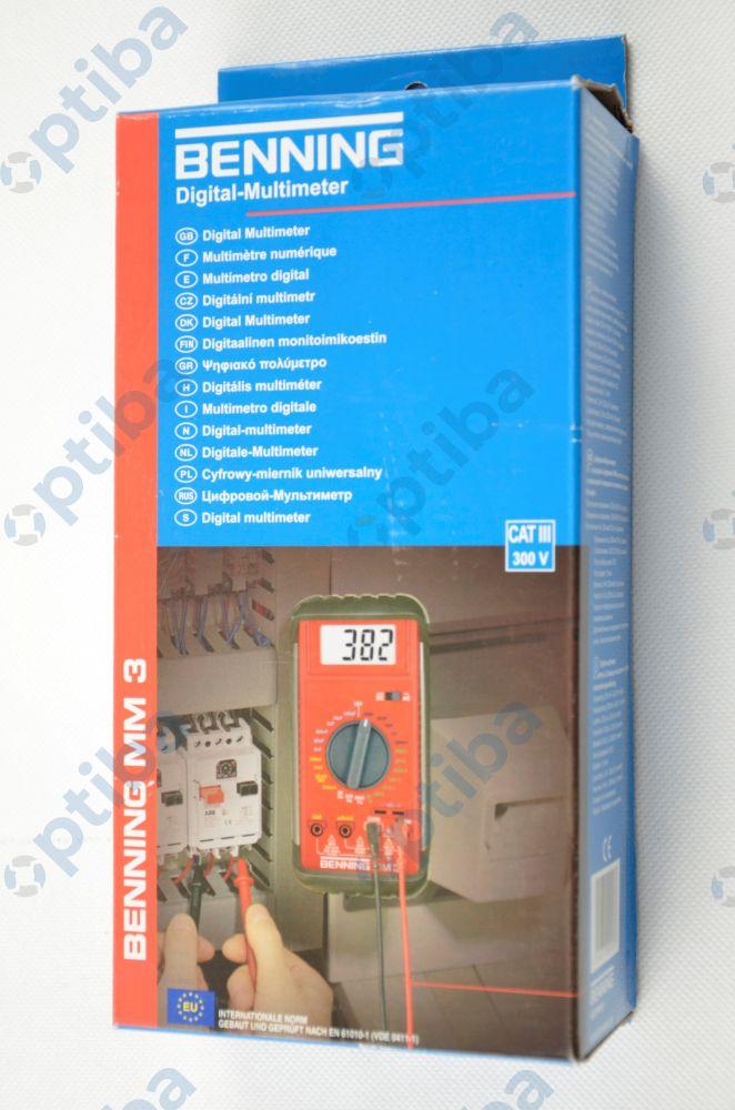 Multimetr cyfrowy MM3 044029