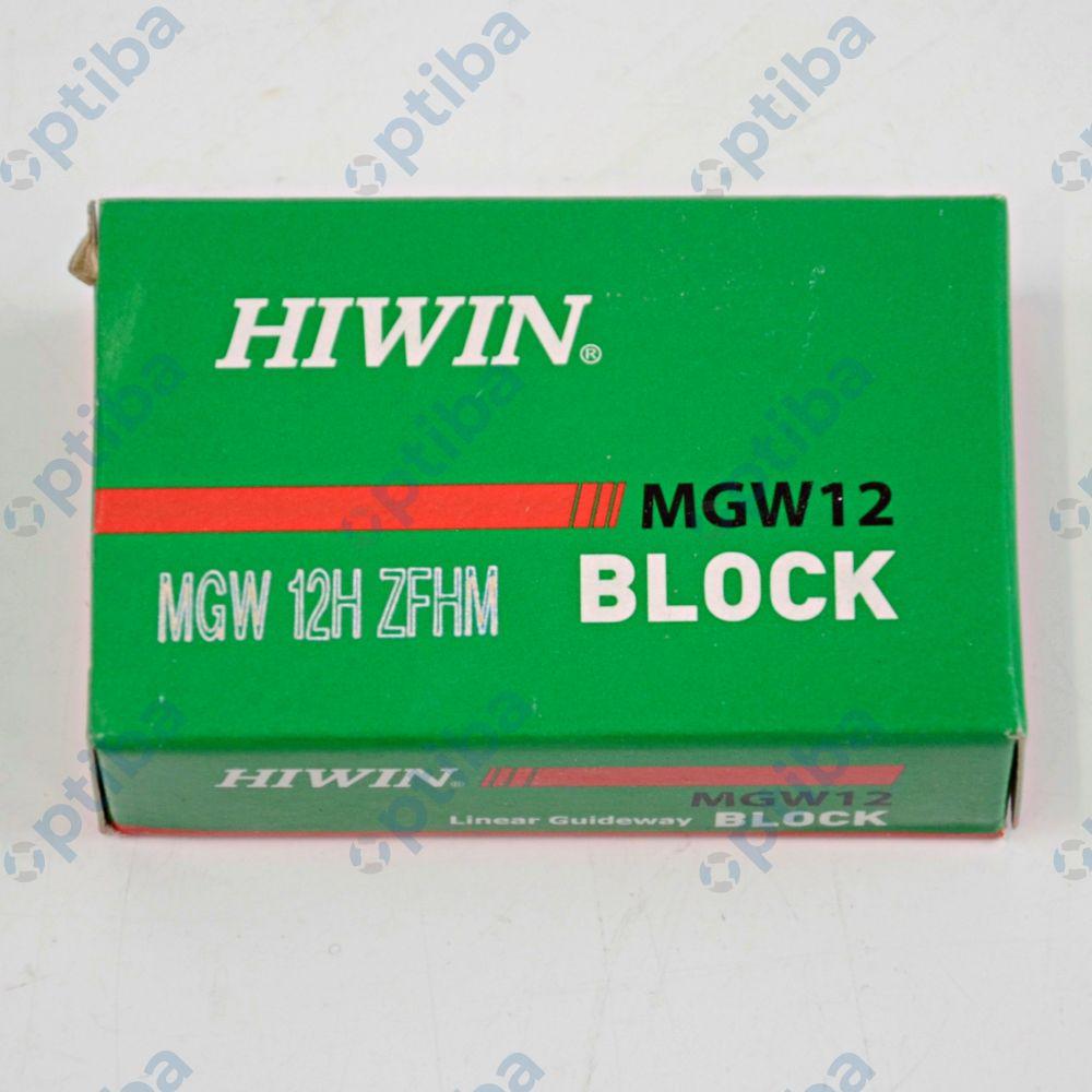 Wózek liniowy miniaturowy szeroki MGW12H ZFHM HIWIN
