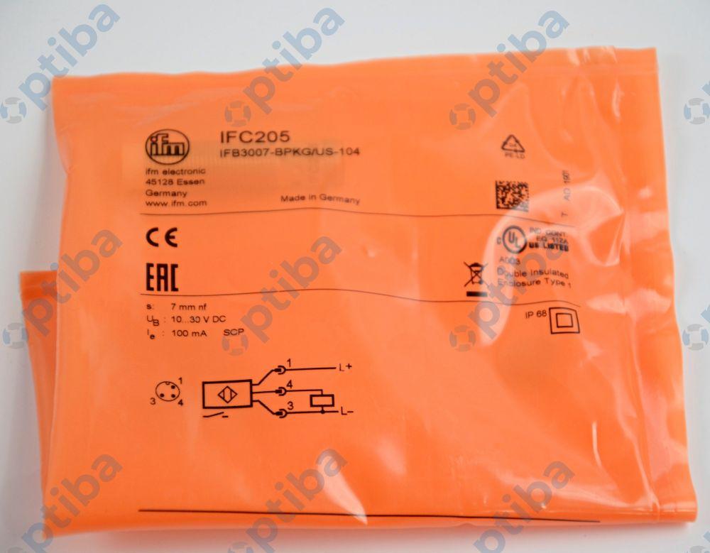 Czujnik indukcyjny IFC205 IFM ELECTRONIC
