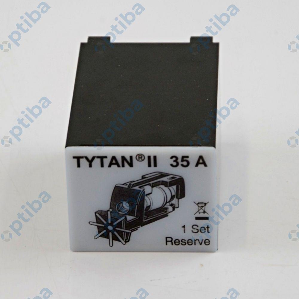 Zestaw 3 wkładek bezpiecznikowych 3x35A do Tytan II IS504717-A SCHRACK