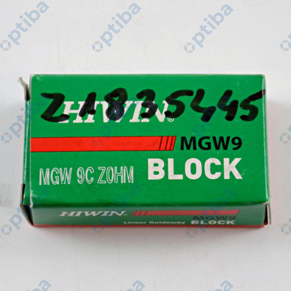 Wózek liniowy miniaturowy szeroki MGW 09C Z0HM HIWIN