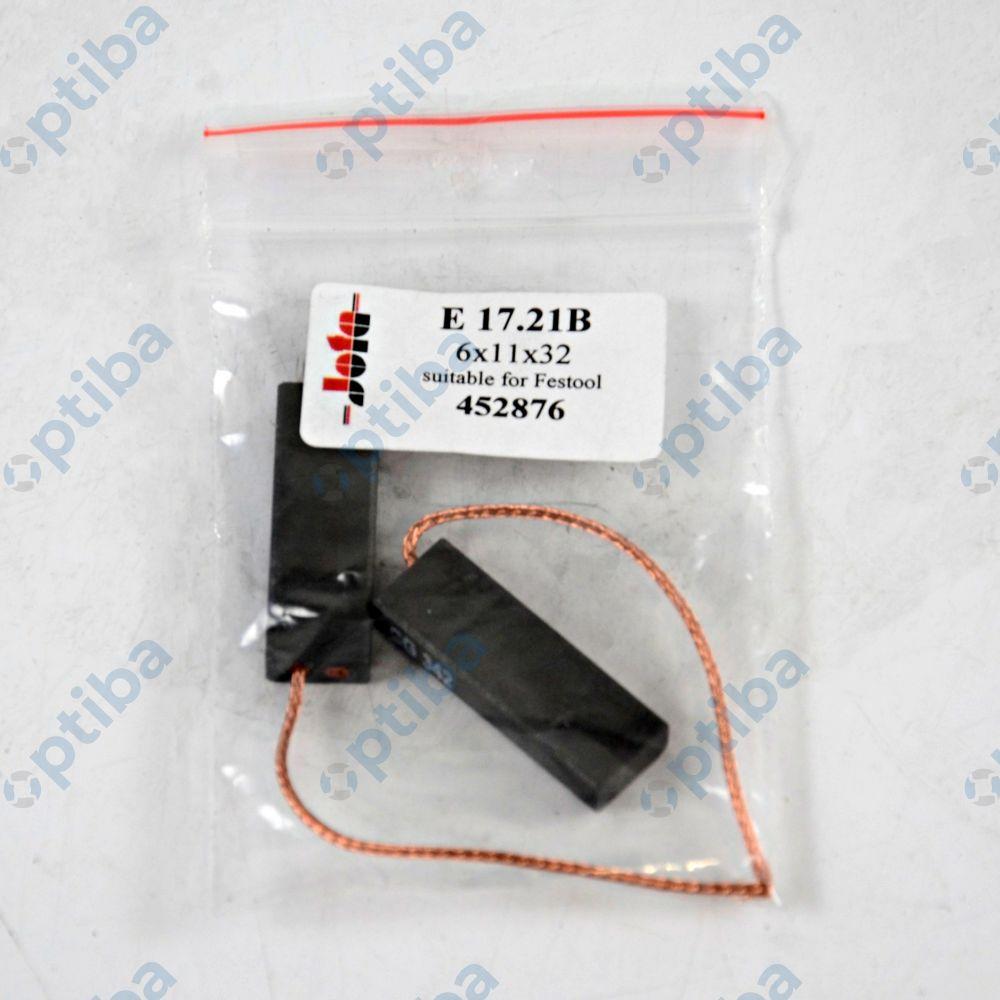 Zestaw szczotek węglowych E 17.21 B 452876 FESTOOL