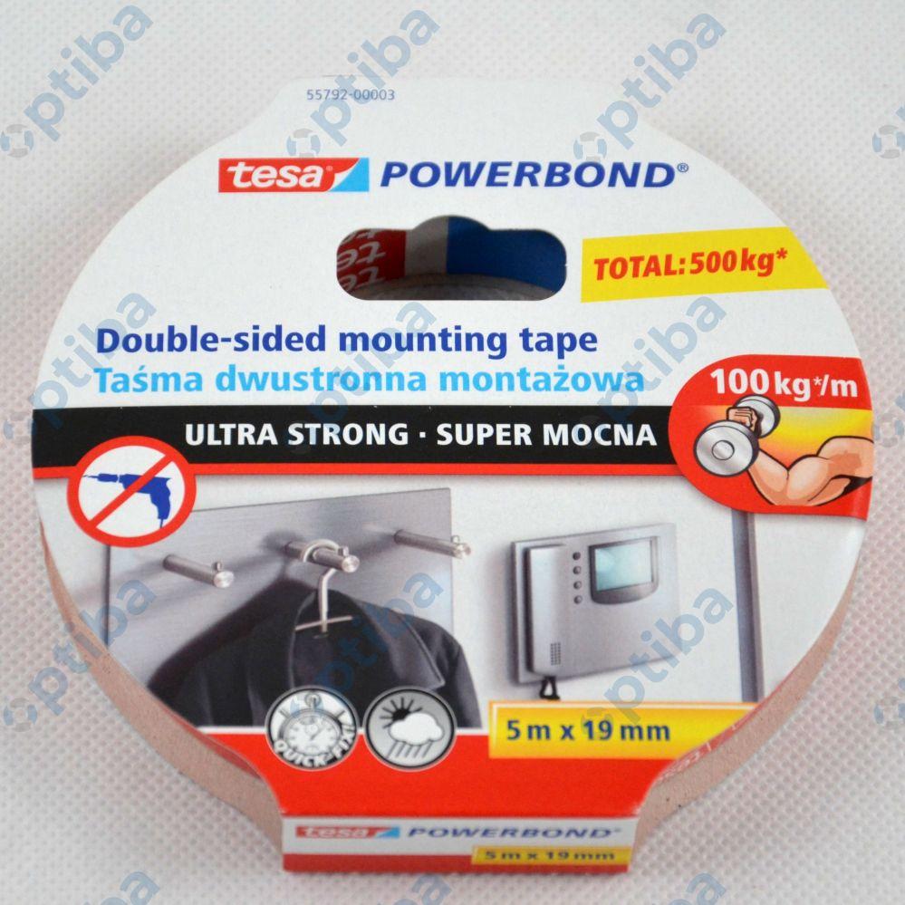 Taśma montażowa Powerbond 5m 19mm 55792-00003-01