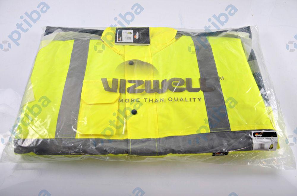 Kurtka ostrzegawcza Vizwell VWJK05YN r.XL żółta VWJK05YN/XL