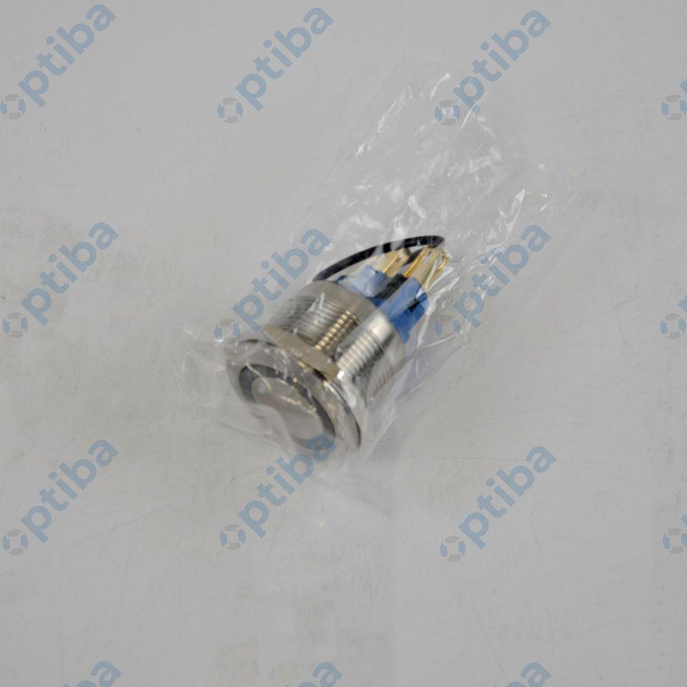 Przełącznik wandaloodporny podświetlany V22-11R-24B-S ONPOW
