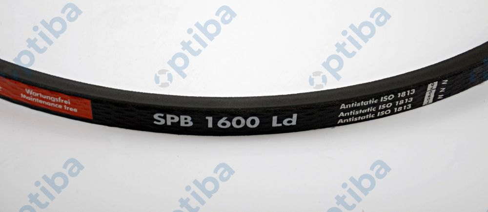 Pas wąskoprofilowy wysokiego obciążenia SPB 1600 RED POWER 1047SPB16006002 OPTIBELT