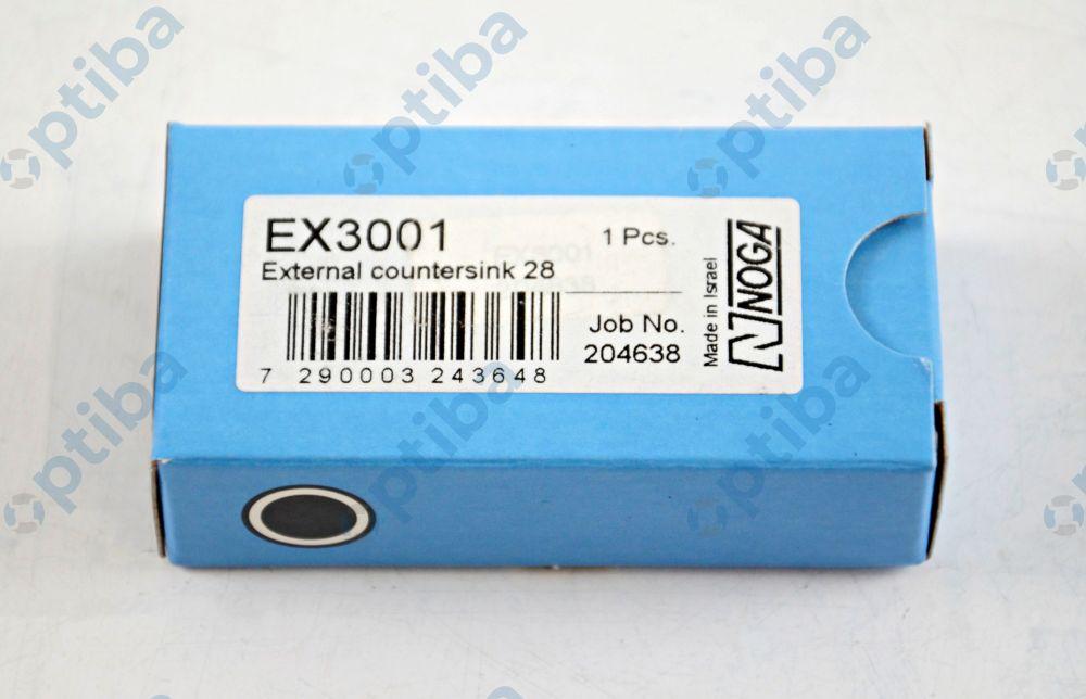 Ostrze EX28 do wałków i rur wyk. z HSS EX3001