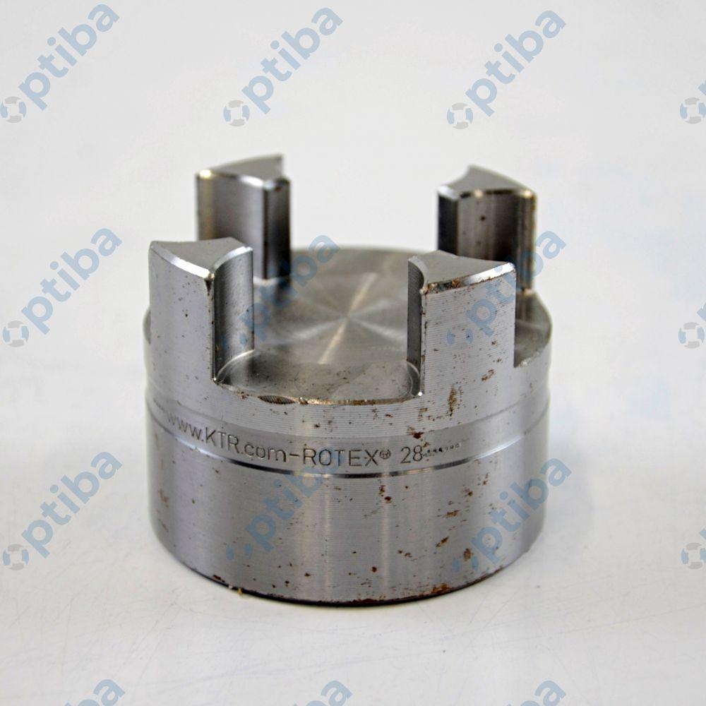 Piasta sprzęgła stalowa pod rozwiert ROTEX 28 ST 1A L=35 KTR