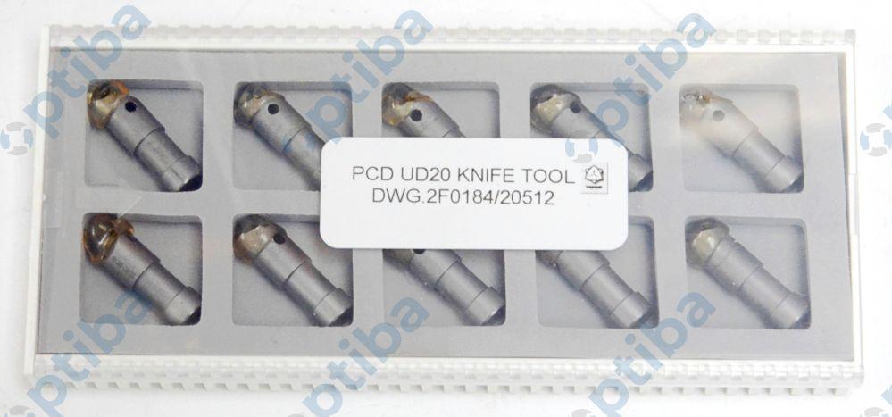 Nóż PCD UD20 7x22.5 DWG.2F0184/20512