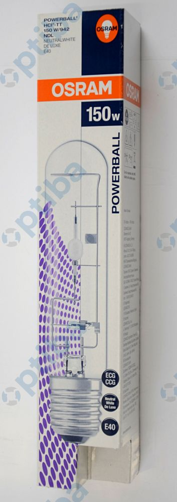 Żarówka metalohalogenkowa ceramiczna HCI-TT 150W/942 NDL PB 4008321679871 OSRAM