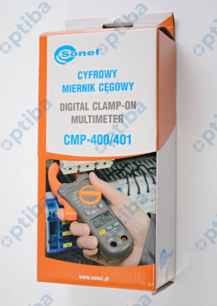 Miernik cyfrowy cęgowy CMP-401 ze świadectwem WMXXCMP401