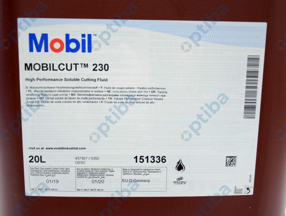 Chłodziwo syntetyczne do tokarki MOBILCUT 230 20l