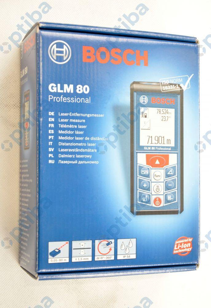 Dalmierz laserowy GLM 80 z podświetleniem 0601072300