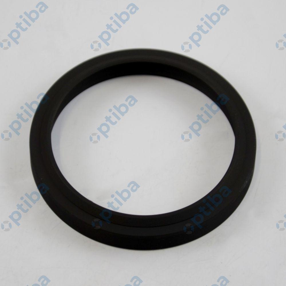 Pierścień zgarniający z kauczuku akrylonitrylo-butadienowego 63.5x76.2x9/11 WR02A NBR KRAGUM