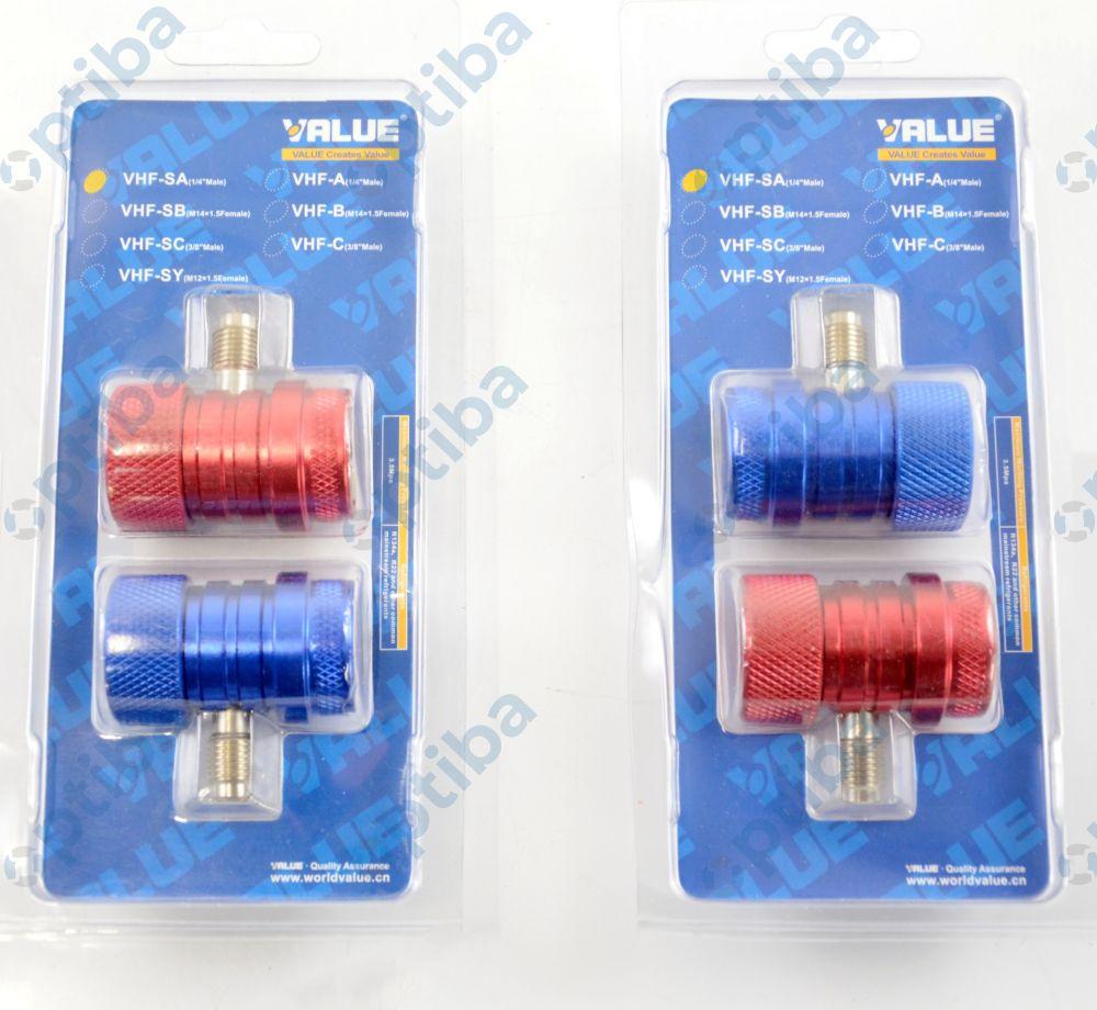 Szybkozłącze zewnętrzne WC VHF-A 1/4 SAE VALUE